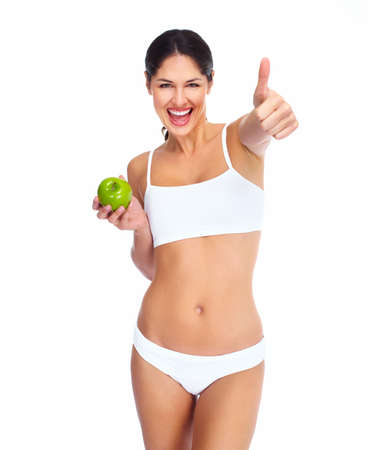 Beautiful healthy woman  Stock Photo - 16640991