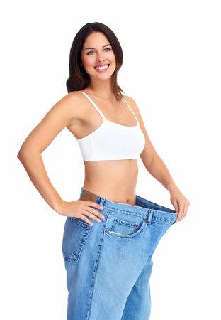 Beautiful healthy woman Stock Photo - 16640965