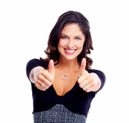 Happy Business woman  Success Stock Photo - 17414987