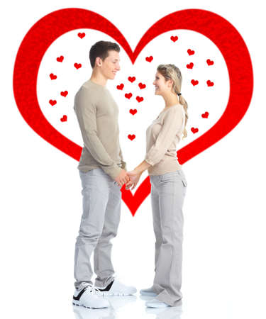 Couple in love Stock Photo - 17658045