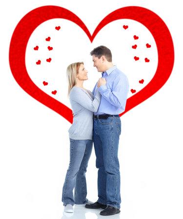 Couple in love Stock Photo - 17658027