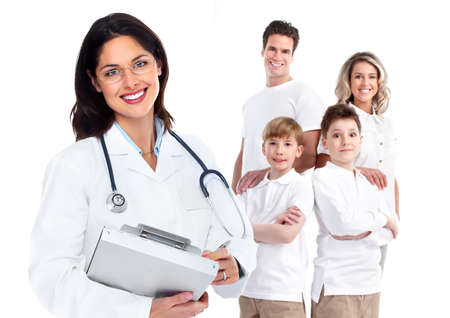 Family doctor woman  Health care Stock Photo - 17658036