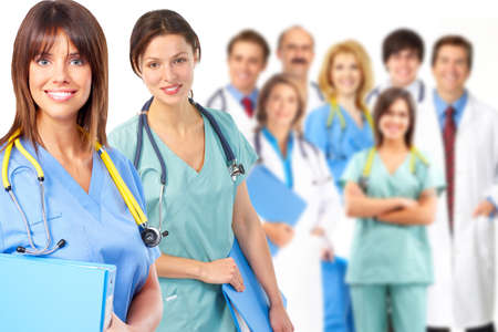 Group of medical doctor  photo