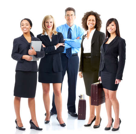 large group of business people: Business team
