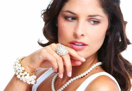 Young beautiful woman portrait  photo
