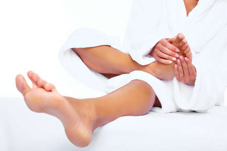 Feet massage  Stock Photo - 17876651