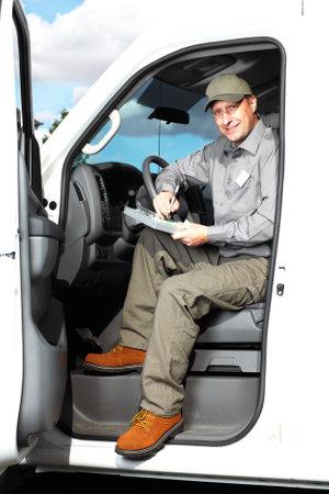 Chauffeur de camion Handsome