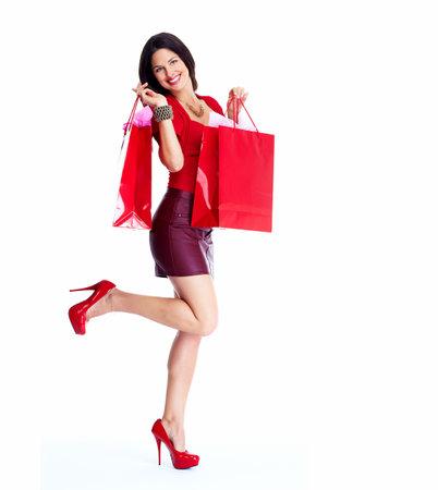 Shopping woman Stock Photo - 17874052
