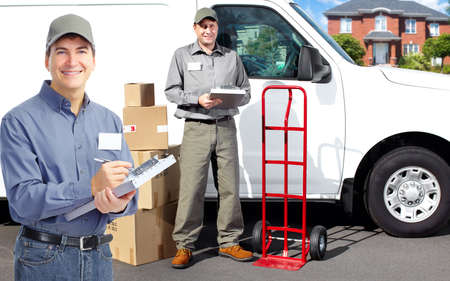 Delivery postman  photo