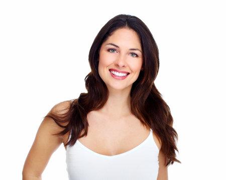 health education: Beautiful woman face