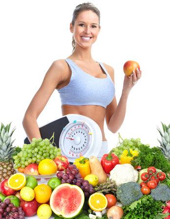 lose: Healthy woman