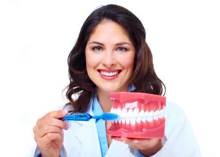 Dentist woman  Stock Photo