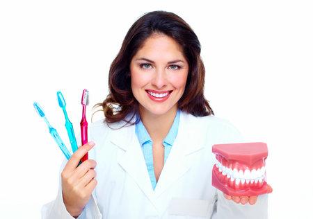 Dentist woman  Zdjęcie Seryjne