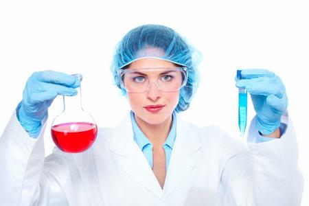 Laboratory research  Stock Photo - 18260944