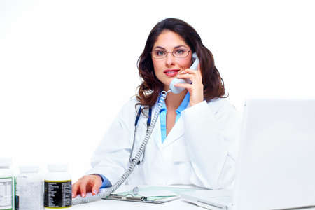 Medical doctor woman  Stock Photo - 18263218