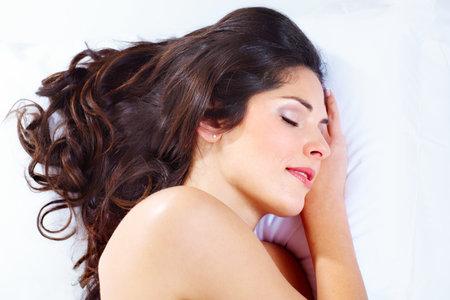 Sleeping woman  photo