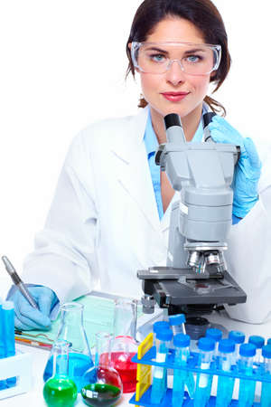 Laboratory research  Stock Photo - 18358025