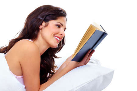 Reading woman  Stock Photo - 18358020