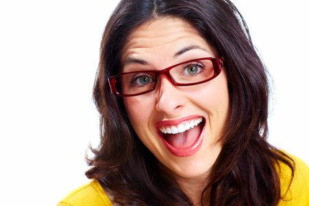 Happy woman Stock Photo - 18388164