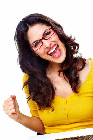 Happy woman Stock Photo - 18388136