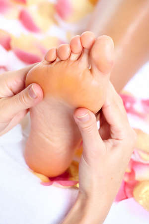Feet massage  photo
