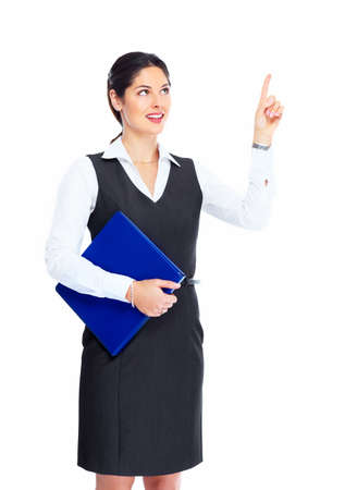 show of hands: Business woman
