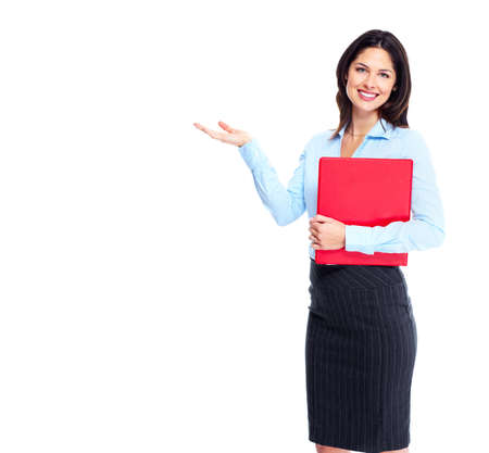 present presentation: Business woman