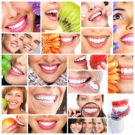 Beautiful woman smile Stock Photo - 23186007