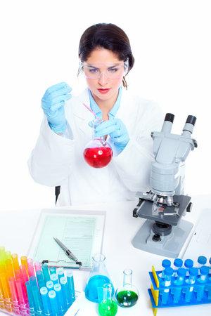 Laboratoriumonderzoek Stockfoto