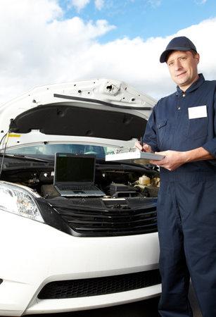 Professional auto mechanic Stock Photo - 18888661