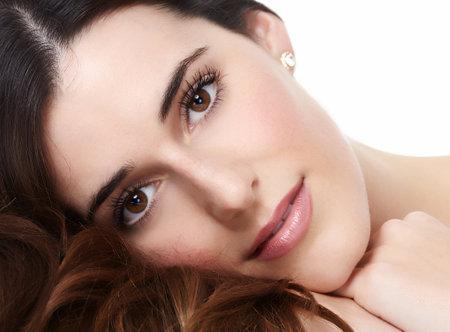 cilia: Beautiful woman portrait