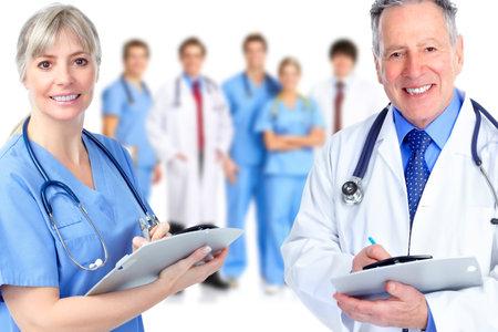 arzt gespr�ch: Gruppe von Arzt Lizenzfreie Bilder