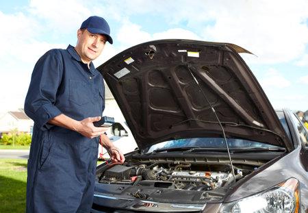 Professional auto mechanic  photo