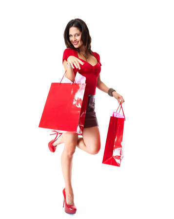 Shopping woman  Stock Photo - 18572856