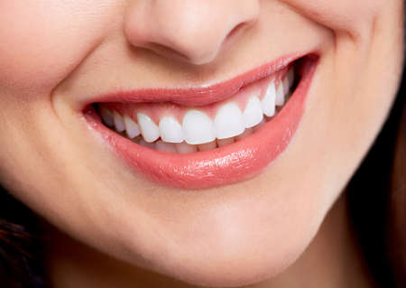 Beautiful woman smile Stock Photo - 18605241