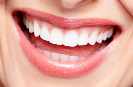 Beautiful woman smile Stock Photo - 18605245