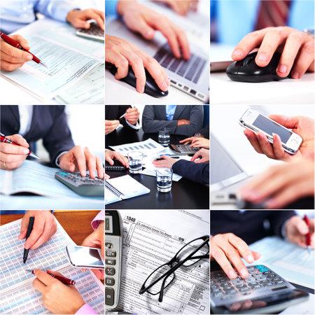 bookkeeper: Gente de negocios equipo Foto de archivo