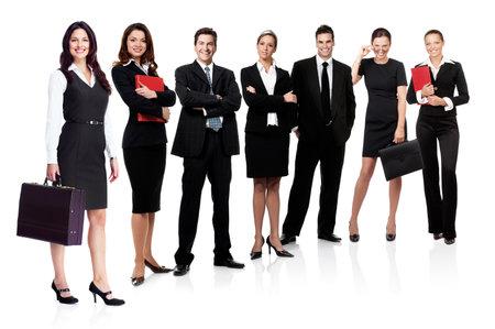 office staff: Business people team