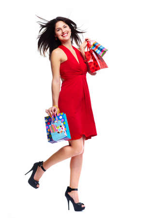 Beautiful woman with shopping bags  Stock Photo - 18763572