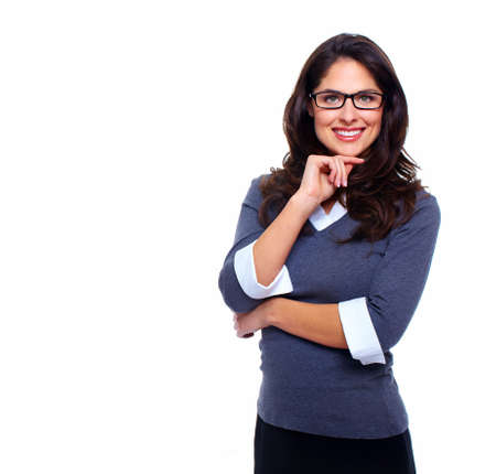 charming business lady: Business woman