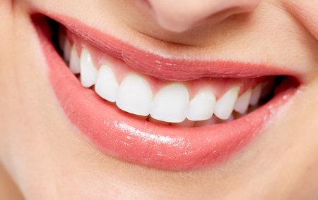 Mooie vrouw glimlach Stockfoto - 18763718