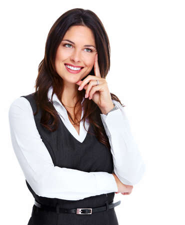 Beautiful young business woman  Stock Photo - 18763746