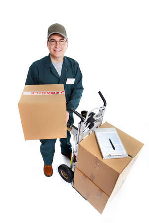 Delivery postman  Stock Photo - 18767732