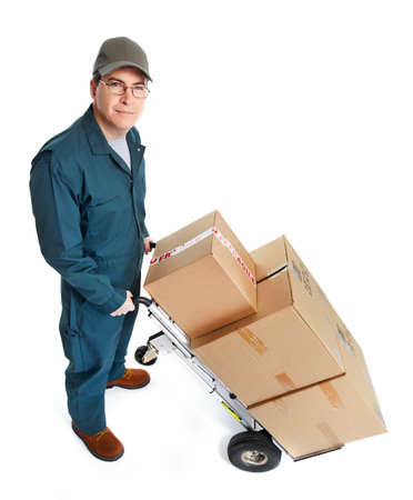 Delivery postman  Stock Photo - 18767733