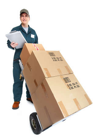 Delivery postman  Stock Photo - 18767736
