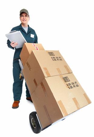 Delivery postman Stock Photo - 18767736