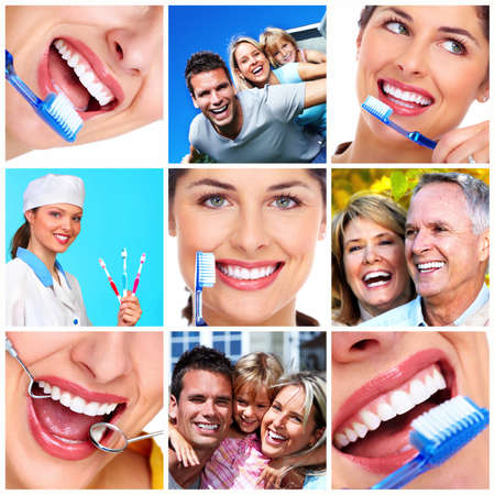 dental caries: Dental health  Stock Photo