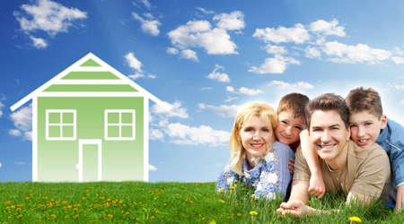 home insurance: Family house