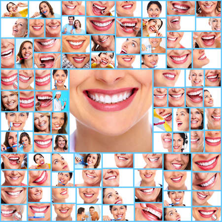 Dental collage  photo