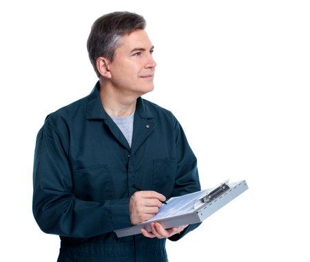 scheduled: Auto mechanic